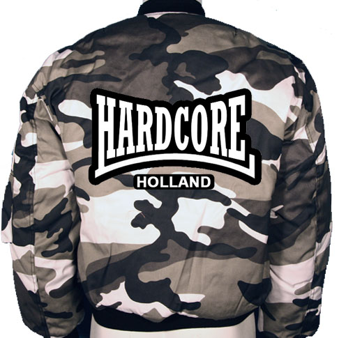 Bomber Camo Hardcore Holland